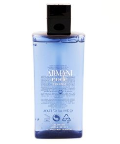 armani code colonoa all over body shampoo