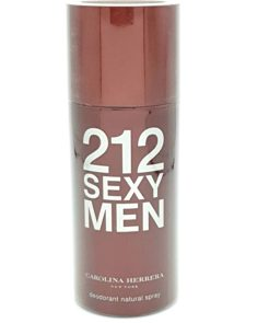 carolina herrera 212 sexy men deodorant spray