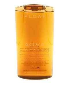 bvlgari aqva amara shampoo and shower gel