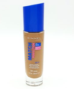 rimmel match perfection foundation no. 502 caramel