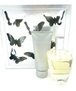 Lalique Fleur de Cristal Gift Set 100ml Eau de Parfum + 100ml Perfumed Body Lotion