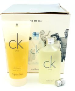Calvin Klein CK One Gifset 50ml Eau de Toilette + 100ml Body Wash